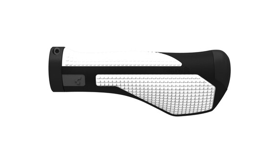 Cube Natural Fit Comfort Cykelhåndtag hvid/sort
